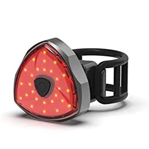 ZBQLKM Cola Light bicicleta  Resistente al agua   USB recargable inteligente de detección del freno de la bicicleta de la lámpara de bolsillo de bicicletas de cola de la bicicleta luz de la cola de