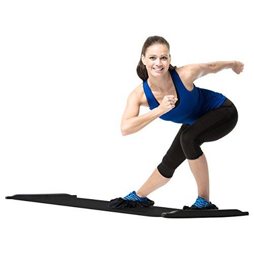 Gymstick Power Slider Board, Ganzkörpertrainer inkl. Übungsanleitung, 230 cm