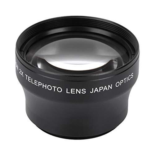 DAUERHAFT Gute Qualität Aluminiumlegierung Kameraobjektiv Ölfestes Teleobjektiv, für 37mm Objektiv Gewindekamera