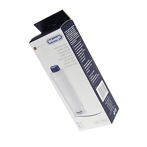 DeLonghi Kaffeemaschinen-Wasserfilter ECAM22.110.B ECAM26.445M ECAM23.450.S