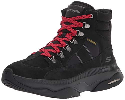 Skechers womens Boots,Black,10 M US