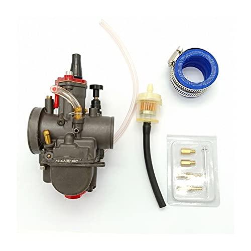 SDLSH Accesorios de Auto 28mm Pwk Power Jet Carb Carburros de Motocicleta Kit de reconstrucción de carburador