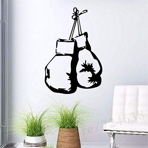 Boxhandschuhe Fighting Sports Wandaufkleber Home Decor Living Wandbild Aufkleber Aufkleber Wallpaper Boy Schlafzimmer Home Art Decoration40X60 Cm