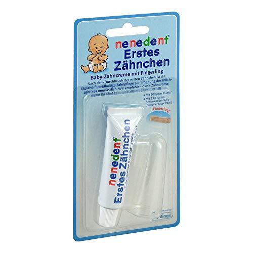 NENEDENT Baby Erstes Zähnchen Zahncr.+Fingerling 15 ml