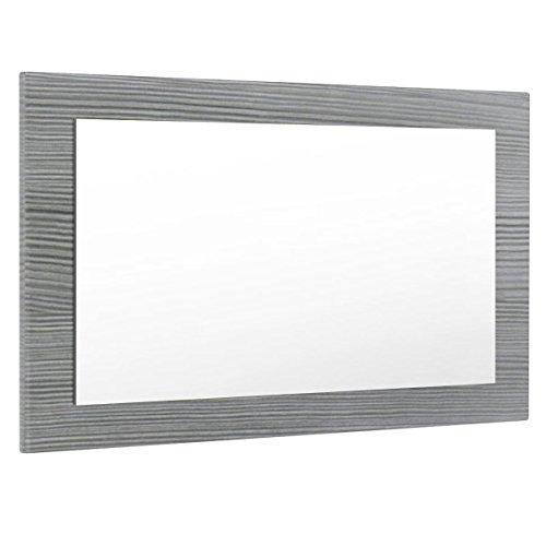 Vladon Spiegel Wandspiegel Lima 89cm in Avola-Anthrazit