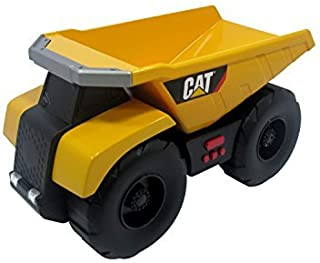 Toy State Caterpillar Big Builder Machines 34621 Toy Construction Vehicle Dumper Truck Moving with Light / Sound Effects by Caterpillar