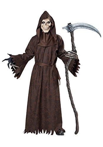 California Costumes - Disfraz de Parca Grim Reaper para Hombre Talla S/M