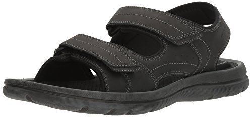 Rockport Men's Get Your Kicks Double Velcro Flat Sandal