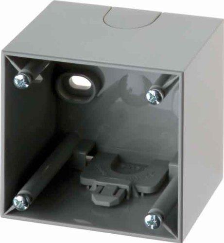 Hager 911512507 - Lichtschalter (Grau, 10 Stück(e))