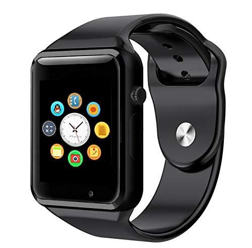 WORG Smartwatch Orologio Touch Screen con Sim Slot e Micro SD cinturino in silicone
