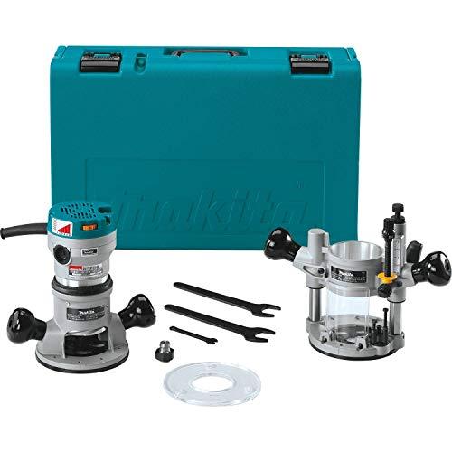 Fantastic Deal! Makita 2-1/4 HP Router Kit, Teal (RF1101KIT2)