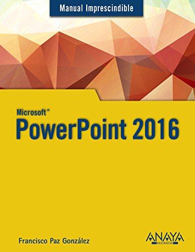PowerPoint 2016 (Manuales Imprescindibles)