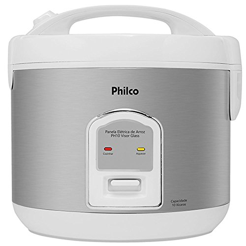 Panela de Arroz PH10 Visor Glass 700W Branca 220v - Philco