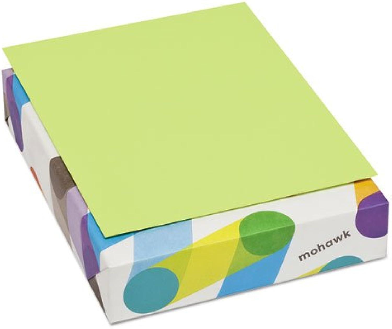 Mohawk britehue – Ultra Lime – 8,5 x 11 Papier – 24 60 Text – 500 pk B007IOHAVS    Genialität