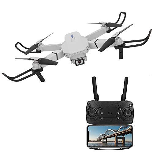 Drone, Drone Plegable, Alta definición Gris Plegable al Aire Libre para Principiantes Control Remoto Altitude Hold