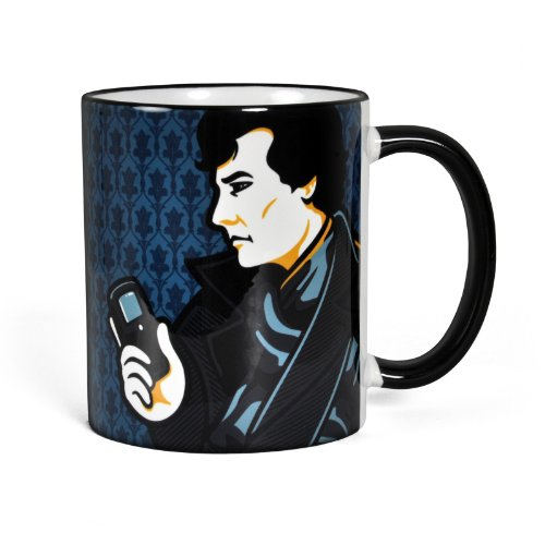 Sherlock Smiley Face - Tasse