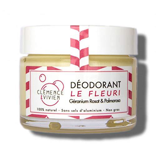Clémence & Vivien Déodorant Crème Fleuri 50 g
