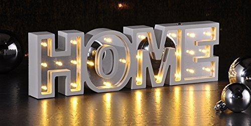 LED Dekolicht Home Dekolampe Deko Leuchtschrift Stimmungslicht Tischlampe