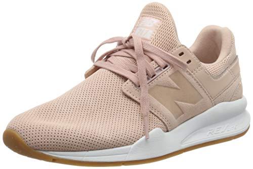 New Balance Women's 247v2 Sneaker Oak/White, 9 B US
