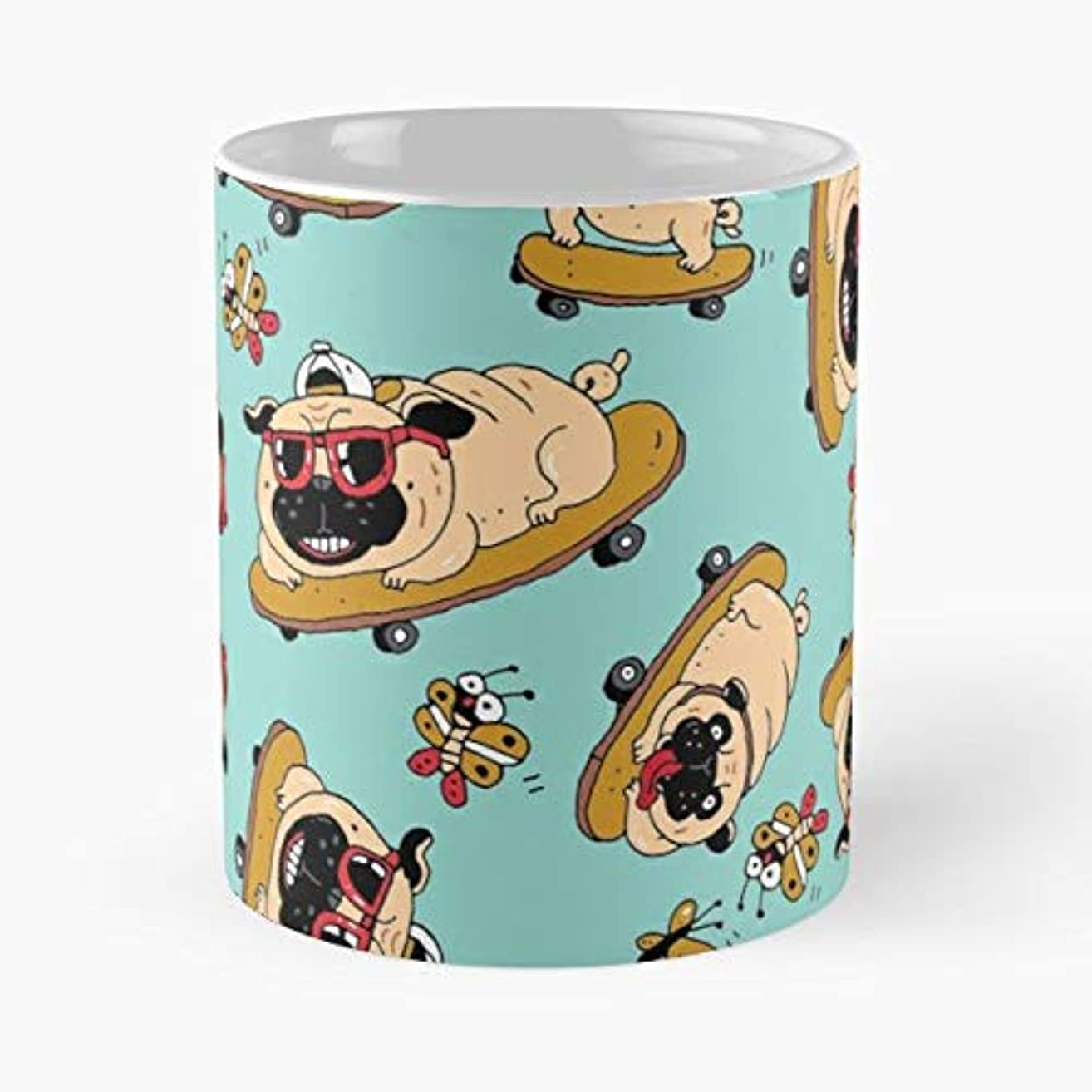 Pug Pugs Pet Dog - Best Gift Coffee Mugs 11 Oz Father Day