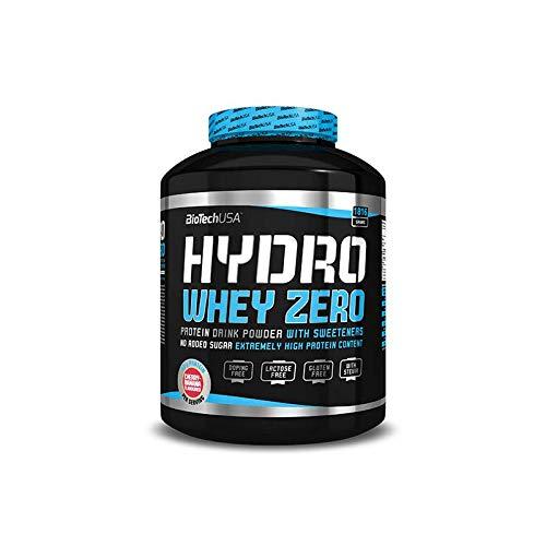 BIOTECH USA New Hydro Whey Zero 1816 gr Proteine del Siero Idrolizzate (BISCOTTO E CREMA)