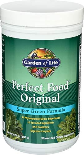 Garden Of Life Cibo Perfetto Polvere Originale Con Formula Super Verde - 300 g