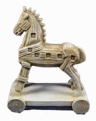 Trojanisches Pferd Skulptur Artefakt Statue