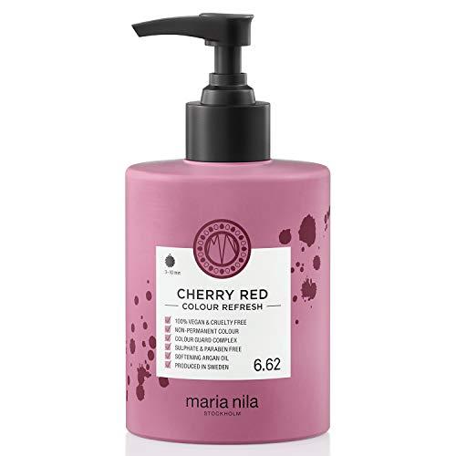 Maria Nila Colour Refresh - Cherry Red 300ml | Eine revolutionäre Farbmaske zur Auffrischung und Intensivierung der Haarfarbe