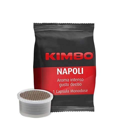 100 Capsule Caffè Kimbo Compatibili Lavazza Espresso Point Miscela Napoli Cremoso