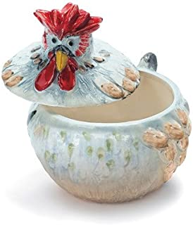 Sur La Table Jacques P233;pin Collection Figural Covered Chicken Bowl G17BT