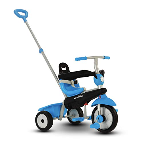smarTrike Breeze Toddler Tricycle for 1,2,3 Year Olds - 3 in 1 Multi-Stage Trike, Blue