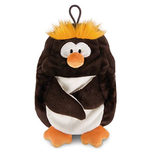 NICI Wärmflasche Pinguin Frizzy 0,35 L – Kuscheltier Wärmflasche Rentier – Flauschiges Wärmekissen Pinguin – Kuscheliges Wärmetier ab 10 Monaten – Wärmeflasche Tier – Plüschtier Bettflasche – 44129