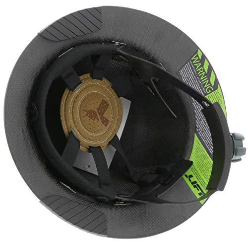LIFT Safety HDFM17KG Dax Carbon Fiber Composite Hard Hat  Matte Black