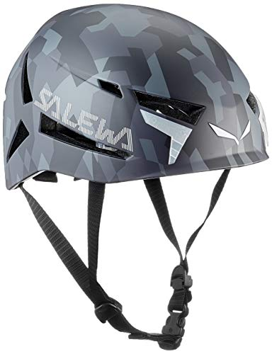 Salewa Unisex– Erwachsene Vega Helmet Helm, Grey Camo, L/XL