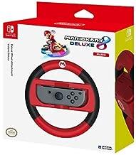 HORI - Volant Deluxe Mario Kart 8 pour Nintendo Switch - Version Mario