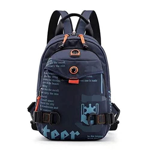Multifunktionale Brusttasche Single Shoulder Messenger Freizeit Outdoor-Reiserucksack Kleiner Rucksack