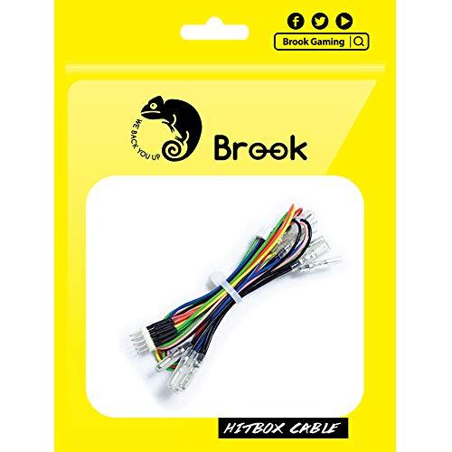 BROOK Hitbox専用 5pinボタン用ハーネス ケーブル【公式正規品/メーカー1年保証付き】