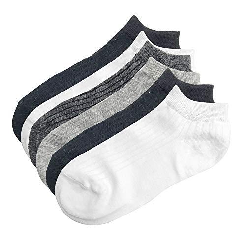 Intim Secret Pack 6 Aleatorios Calcetines Tobilleros para Hombre, Calcetines Cortos Elásticos, Diseños Originales y Colores Mixtos, Talla 40-46, Ideales para Zapatillas, Deporte, Trabajo etc.