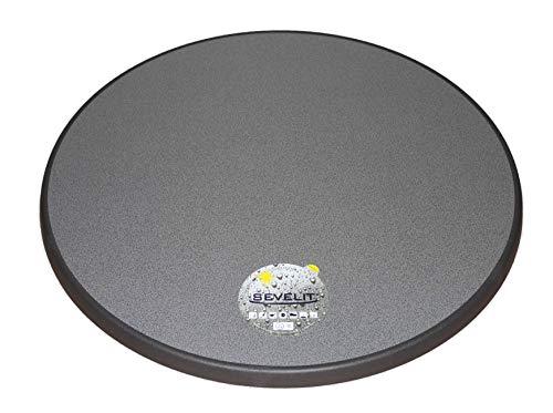 Sevelit Tischplatte Dekor weiß oder puntinella 70 cm rund wetterfest Ersatztischplatte Bistrotisch Stehtisch Tisch Gastronomie (Puntinella)