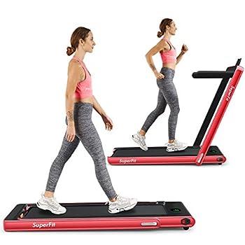 Goplus collapsible treadmill