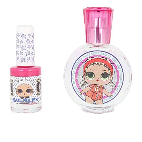 Cartoon Set de Eau de Toilette LOL Surprise Perfume + Esmalte Uñas