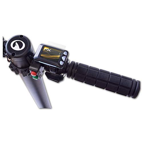atFoliX Protecteur d'écran Compatible avec SharkEye SEM100 Film Protection d'écran, antiréfléchissant et Absorbant Les Chocs FX Film Protecteur (2X)