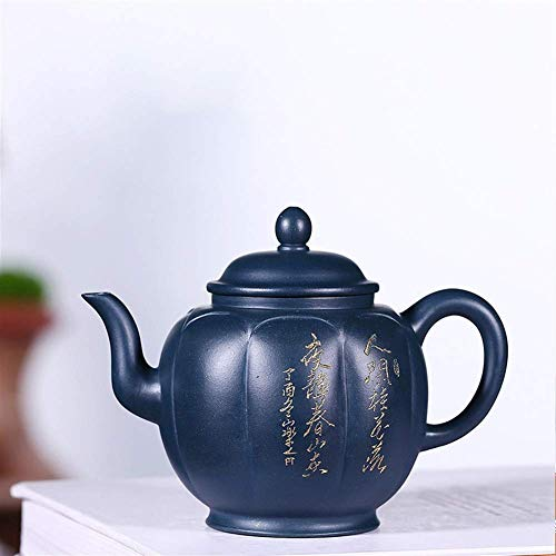 outingStarcase Tetera de Mineral de Lotus lámpara de Barro Blue Sky Wang Ciudad de la Famosa Hecha a Mano de Viaje té