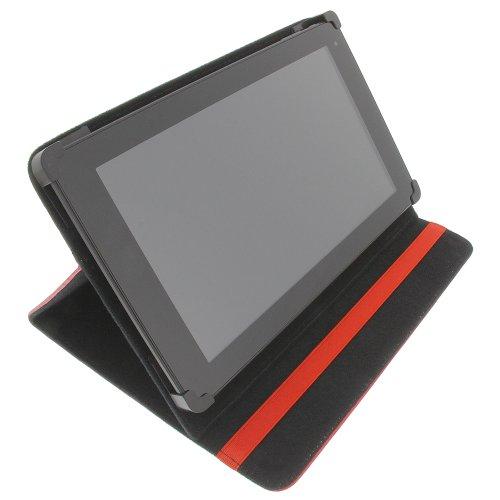 Tasche für Trekstor SurfTab ventos 10.1 ST 10216-2 SurfTab ventos Book Style Schutz Hülle Buch rot