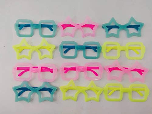 Pop the Party Neon Coloured Fun Goggles for Kids-Pack of 12