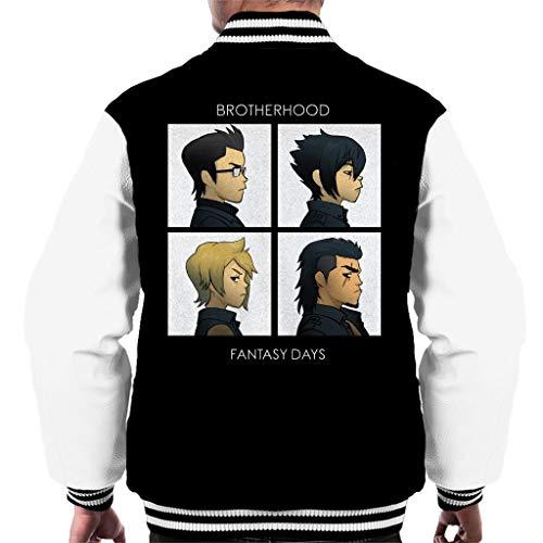 Cloud City 7 Final Fantasy Brotherhood Days Men's Varsity Jacket