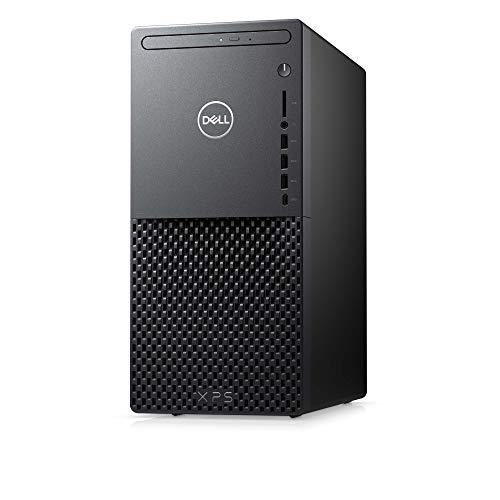 Dell XPS 8940 Tower Desktop, 10th Gen Intel Core i7-10700, 16 GB DDR4 Memory, 512GB SSD + 1TB HDD, NVIDIA GeForce RTX 2060 6GB GDDR6, Windows 10, Black