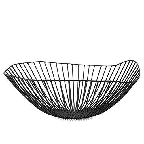 Coupe de fruits, noir Ø 39 cm