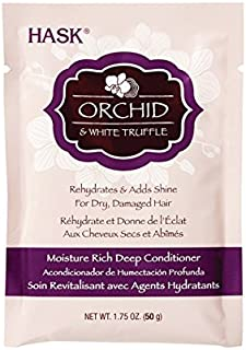 HASK Orchid & White Truffle Extra Moisture Deep Conditioner Packet, 50 grams