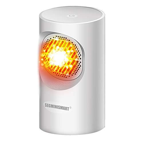 Mini Heizlüfte,Heiß Heißlüfter,Ventilator Heizlüfter,Heizlüfter Überhitzungsschutz Warm und natürlicher Wind Mini Für das Home Office